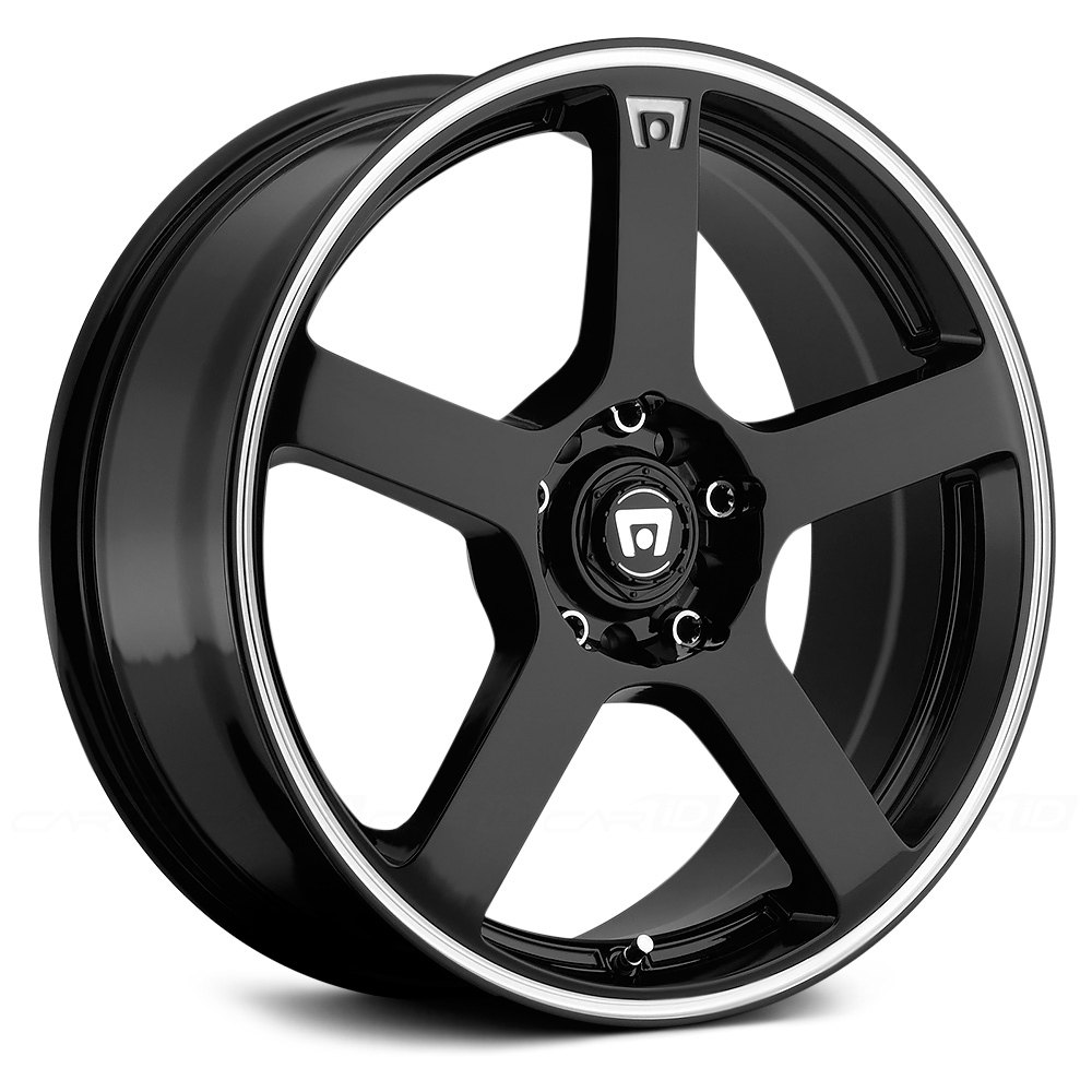 Motegi Racing 174 Mr116 Wheels Gloss Black With Machined