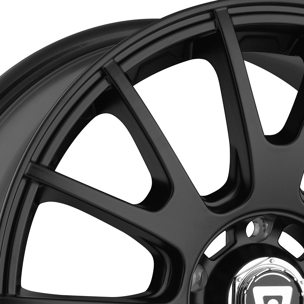 racing mr118 matte black with clear coat