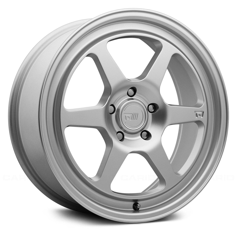 MOTEGI RACING® MR136 Wheels - Silver Rims