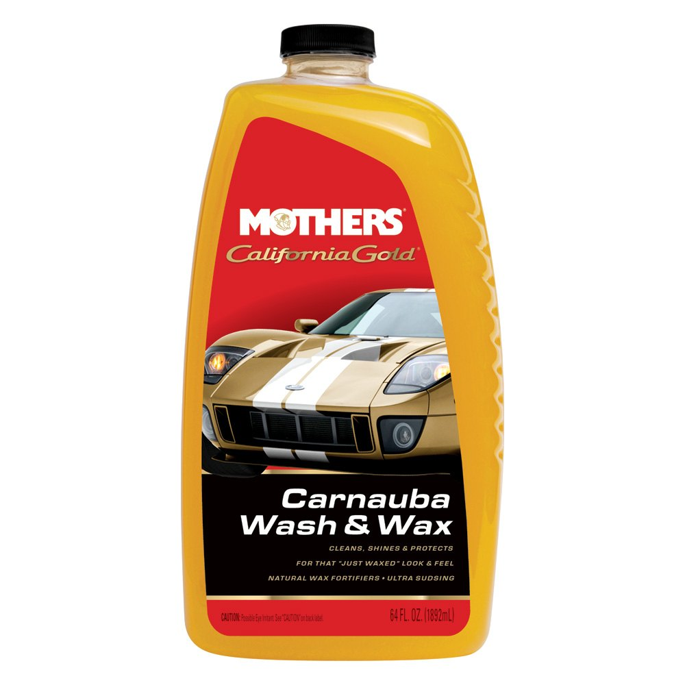Wash And Wax A Car With Mothers