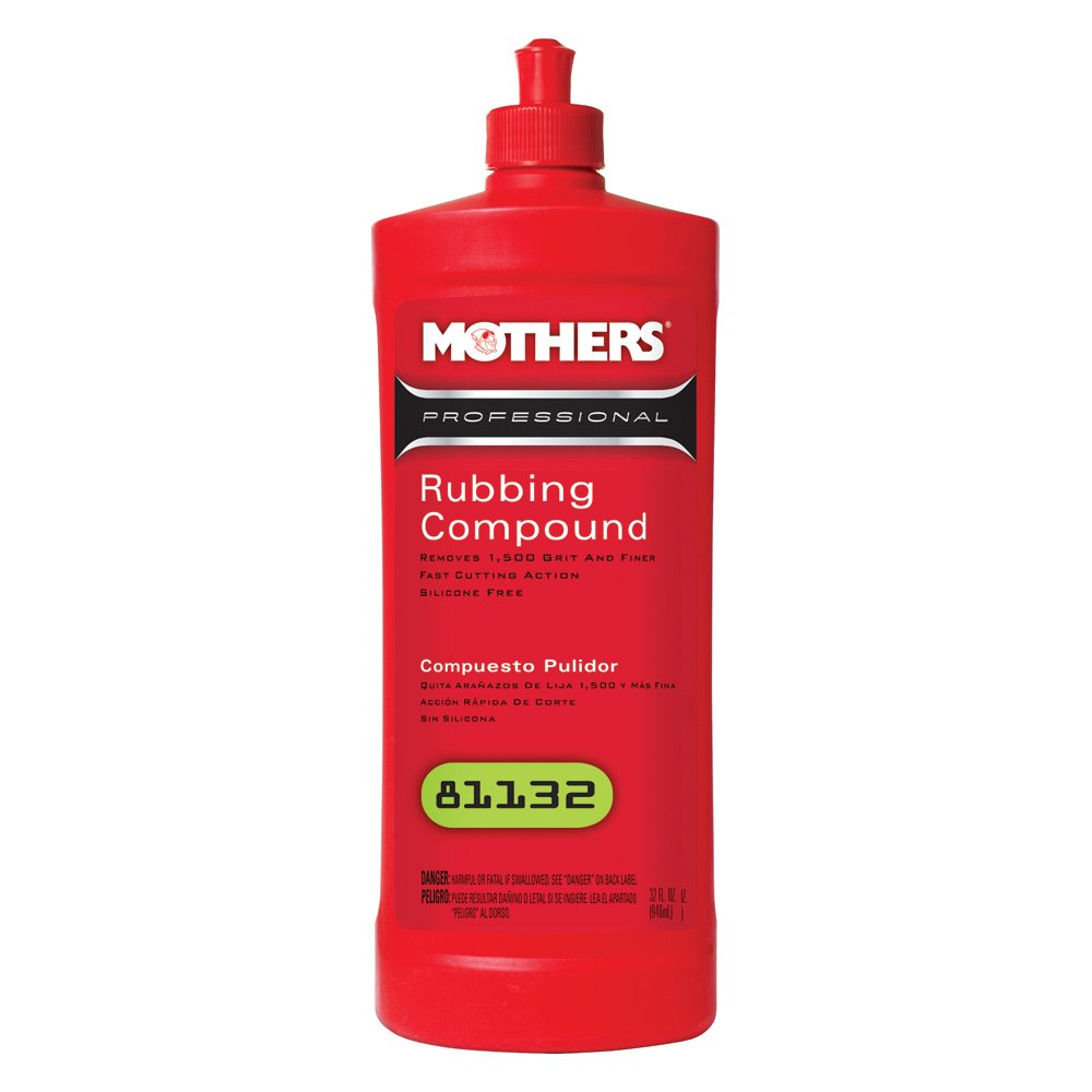 Mothers 174 81132 32 Oz Professional Rubbing Compound