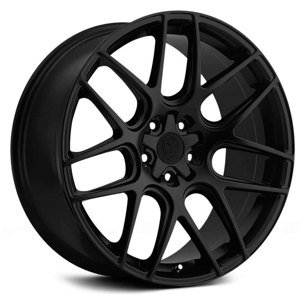 Motiv 174 409b Magellan Wheels Satin Black Rims