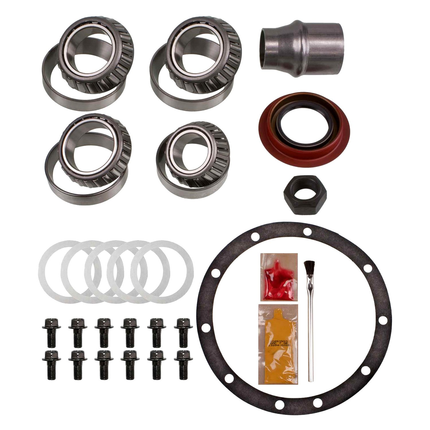 Motive Gear Dodge Charger 1969 Differential Master Bearing Kit Rear With Premium Timken