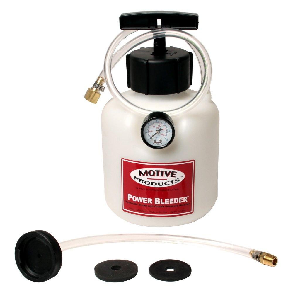Motive Products 174 0108 Gm Brake Fluid Power Bleeder System