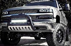 MOTO METAL® - MO962 Gloss Black with Milled Accents on Chevy Silverado