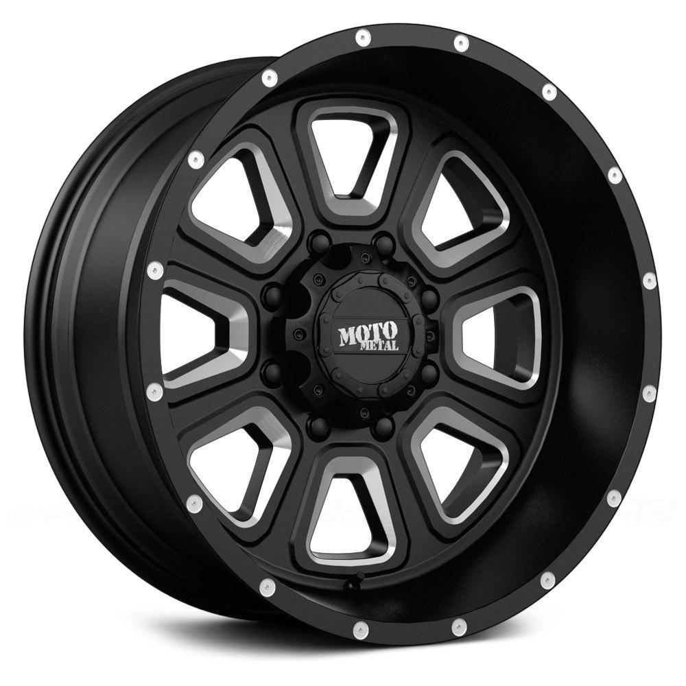 Black Moto Metal MO972 Wheels & Rims
