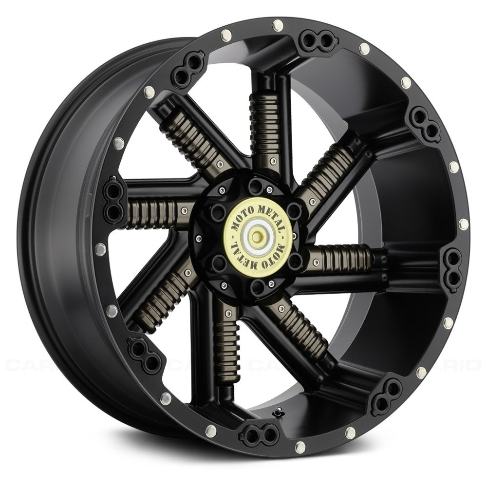 Moto Metal Mo979 Buckshot Wheels Satin Black With Gunmetal