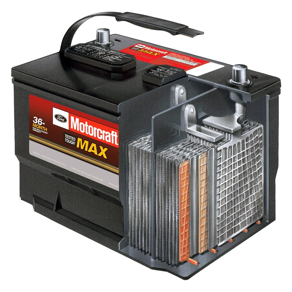 Bagm 48h6 760 Motorcraft Tested Tough Max Agm Battery Ebay