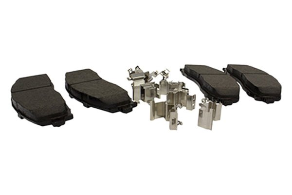 Standard Premium Disc Brake Pad Set-Pads Integrally Molded Organic Rear