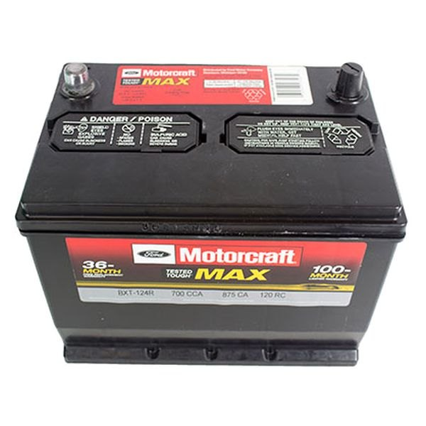 Motorcraft Bxt124r Tested Tough Max Battery