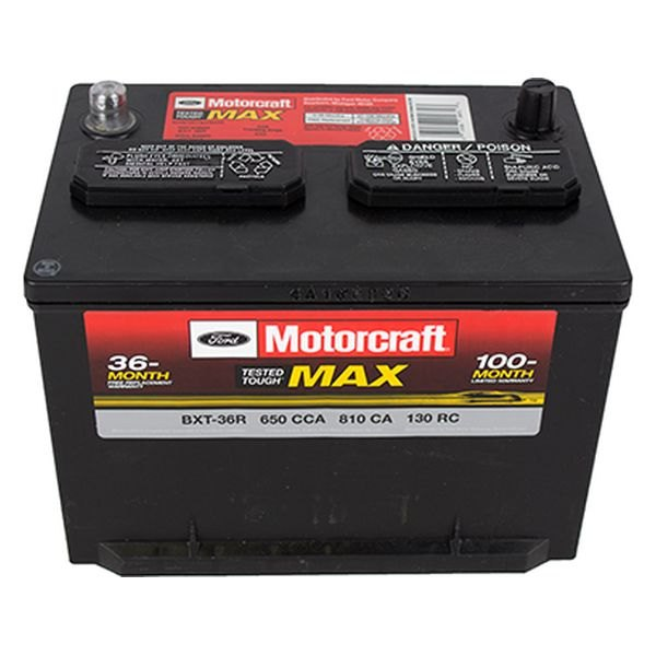 Motorcraft Bxt36r Tested Tough Max Battery