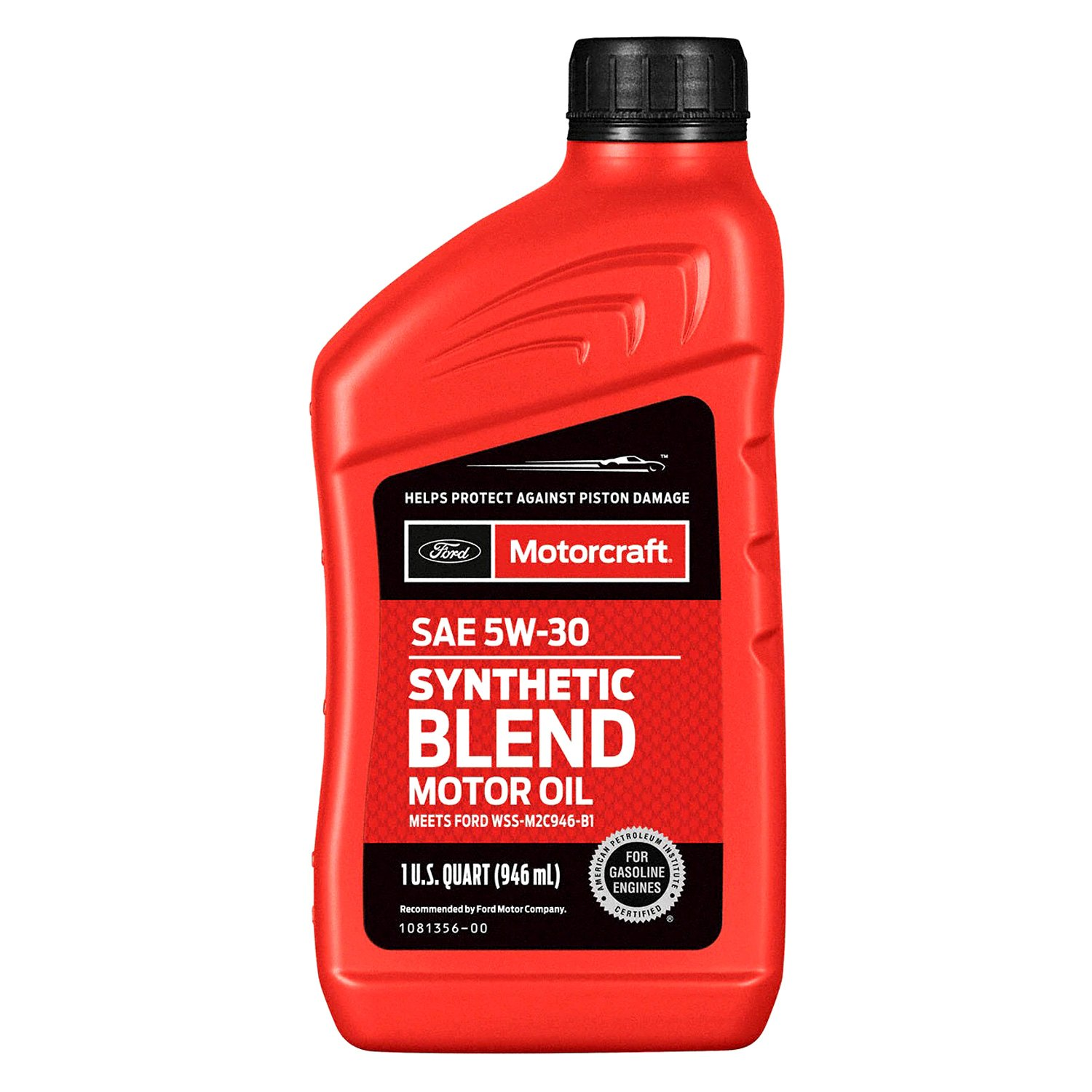 motorcraft universal sae 5w 30 synthetic blend motor oil