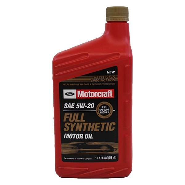 motorcraft xo5w20qfs universal sae 5w 20 full synthetic