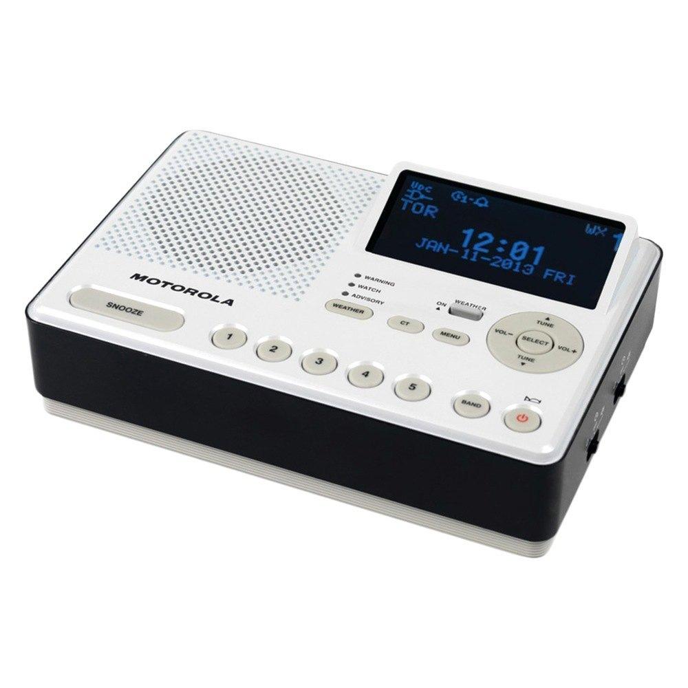 Motorola Mwr839 Desktop Am Fm Weather Radio