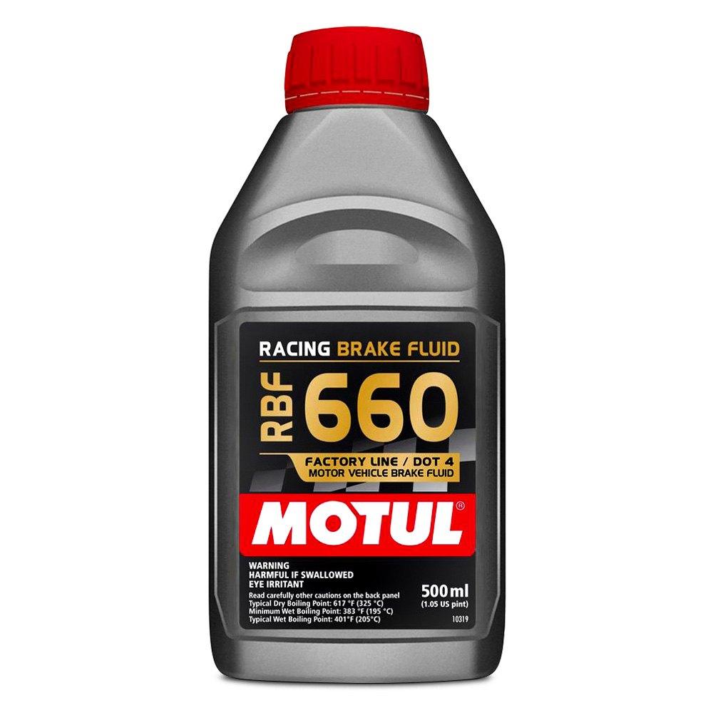 Dot 5 Brake Fluid >> Motul USA® 101667 - RBF 660 DOT 4 Synthetic Brake Fluid 16.9 oz