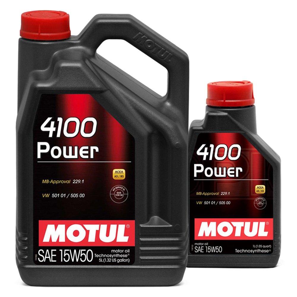 Motul Usa 174 4100 Power Technosynthese Motor Oil
