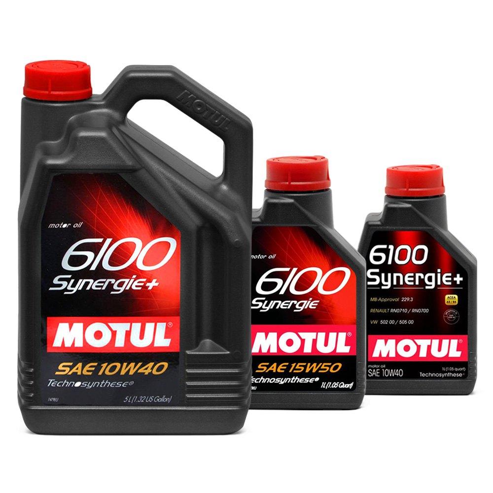 Motul Usa 6100 Synergie Technosynthese Motor Oil