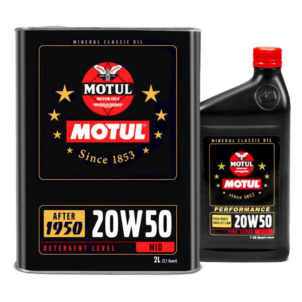 Motul USA® - Classic Mineral Motor Oil
