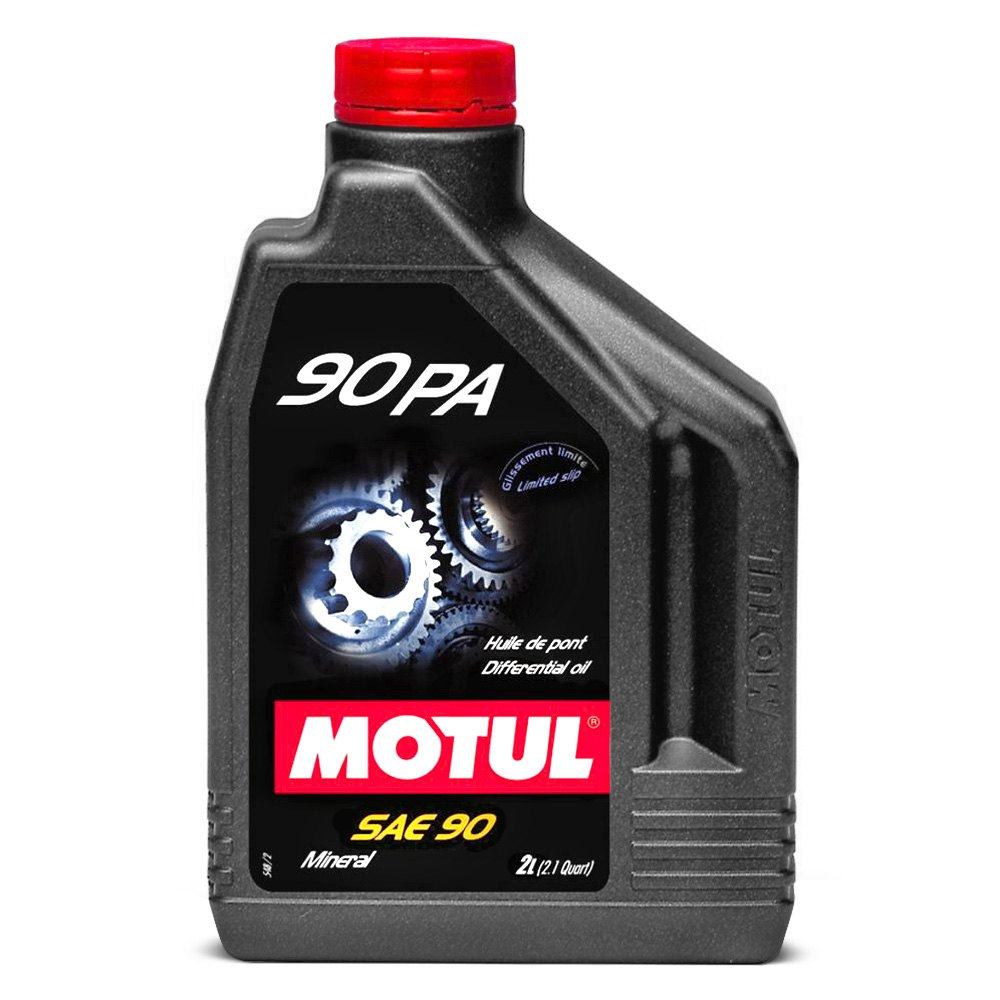 Types Of Oil For Cars >> Motul USA® 100122 - 90 PA SAE 90 Mineral Transmission Lubricant 2.1 Quarts