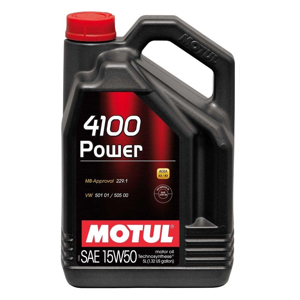 Motul Usa 4100 Power Technosynthese Motor Oil