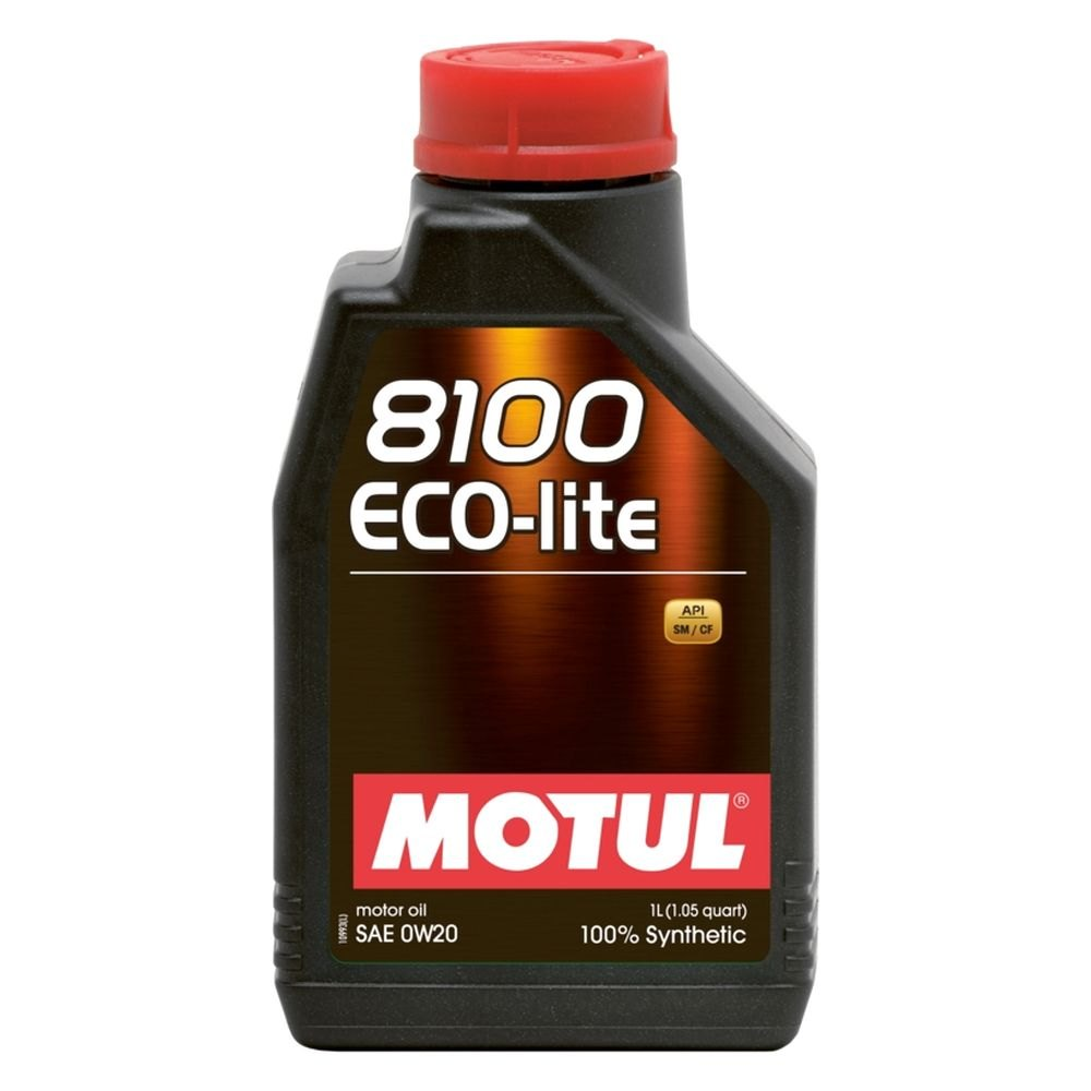 Motul Usa 101525 Eco Lite Synthetic Sae 0w 20 Motor Oil
