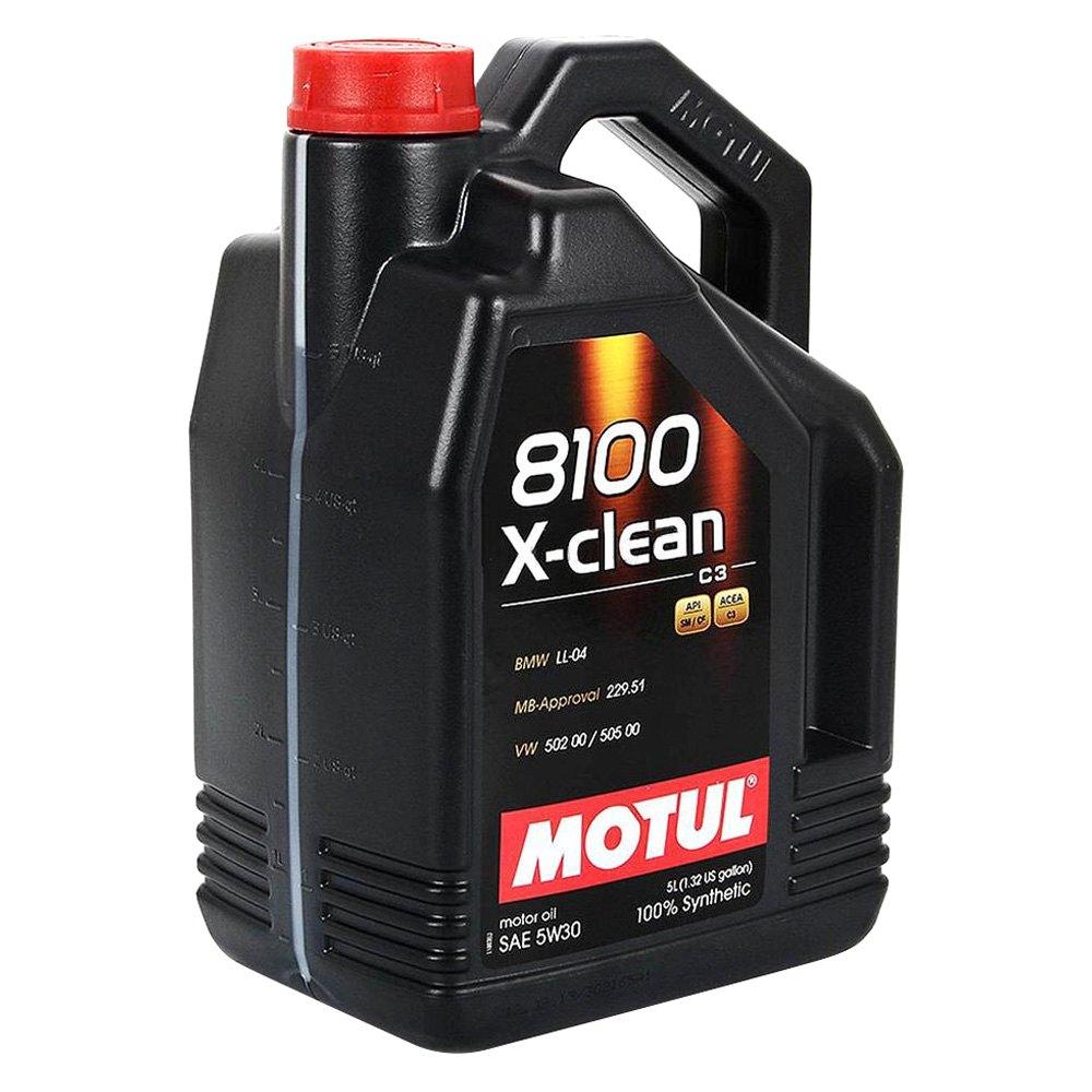 Motul Usa 102020 X Clean Synthetic Sae 5w 30 Motor Oil