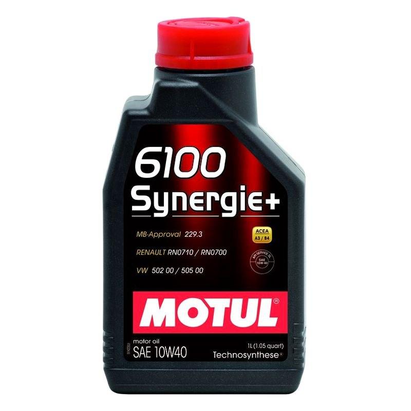 Motul Usa 102781 Synergie Technosynthese Sae 10w 40