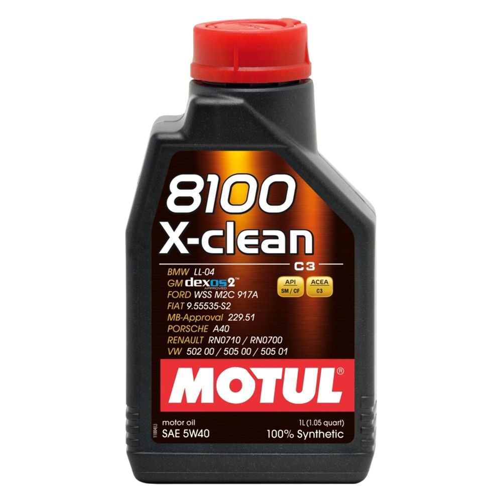 motul usa 102786 x clean c3 synthetic sae 5w 40 motor oil. Black Bedroom Furniture Sets. Home Design Ideas