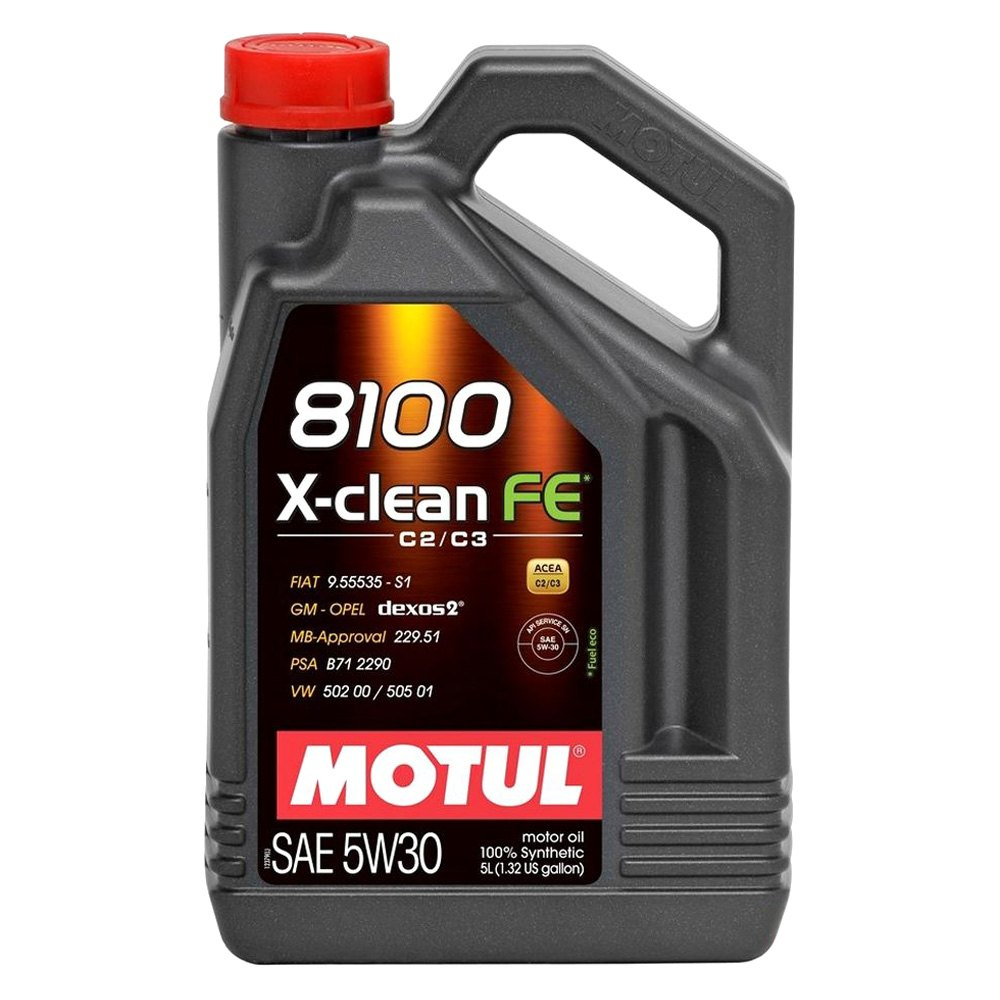 Motul Usa 104777 X Clean Fe Synthetic Sae 5w 30 Motor Oil