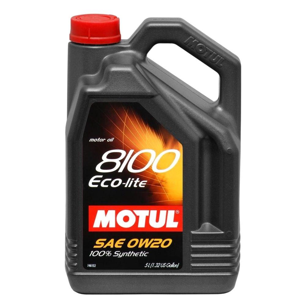 Motul Usa 174 104983 8100 Eco Lite Synthetic Motor Oil