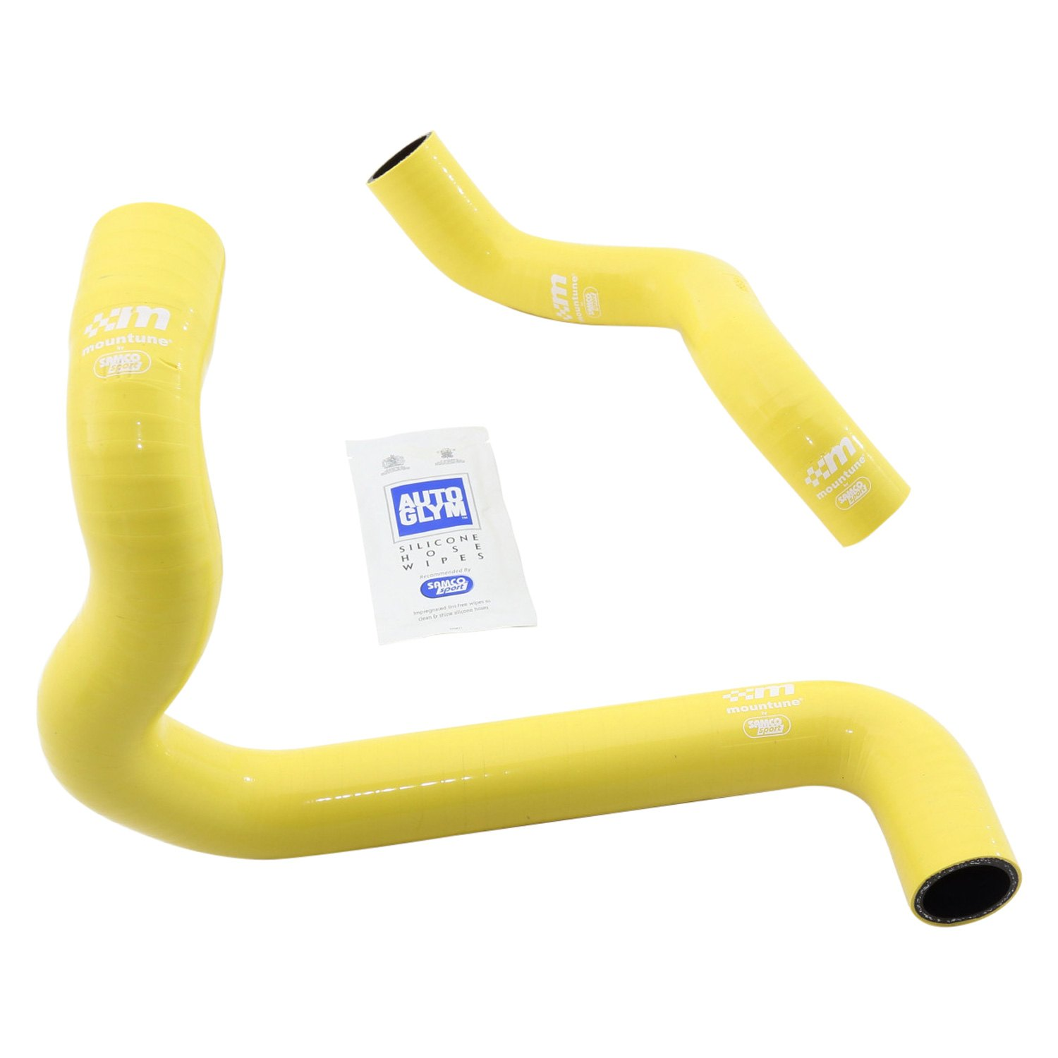 Mountune ultra high performance red silicone radiator hose