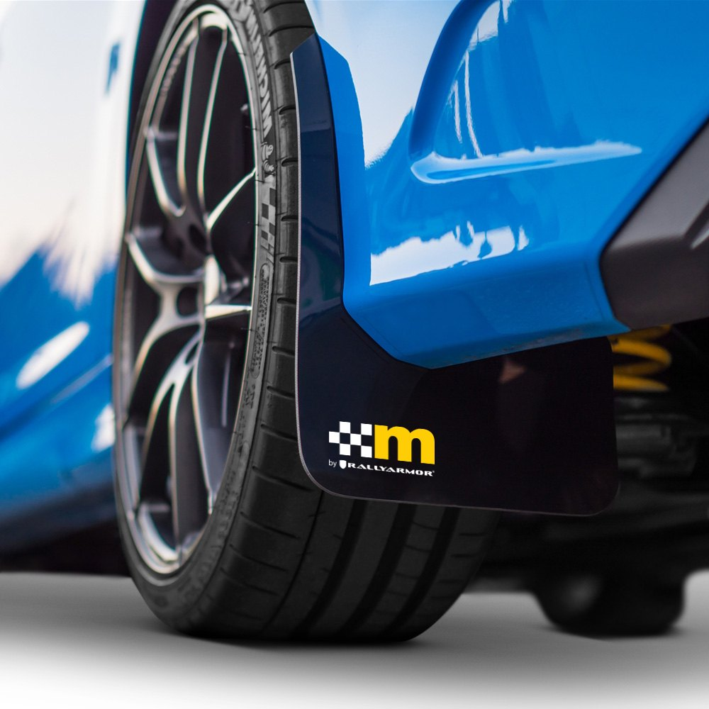 Mountune® - Black Mud Flap Set with M Logo