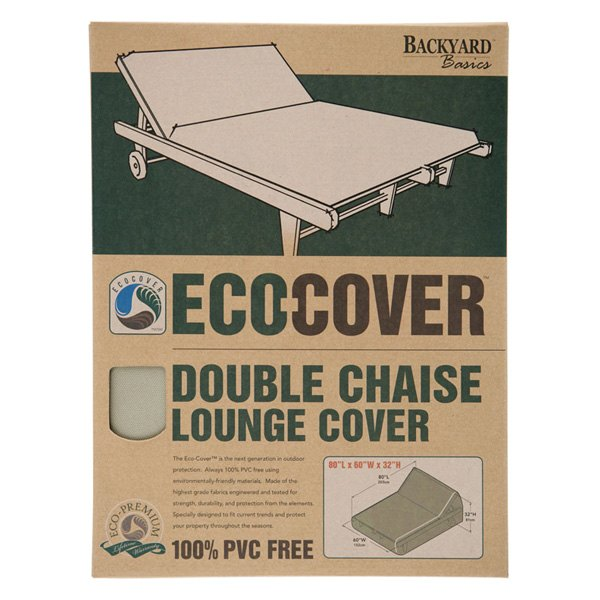 Mr bar b q 07300gd eco cover double chaise lounge cover for Chaise lounge bar