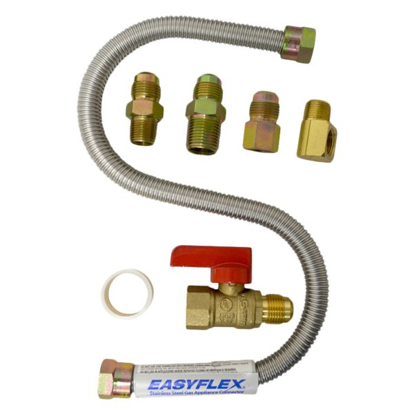 Propane wall heater hook up kit