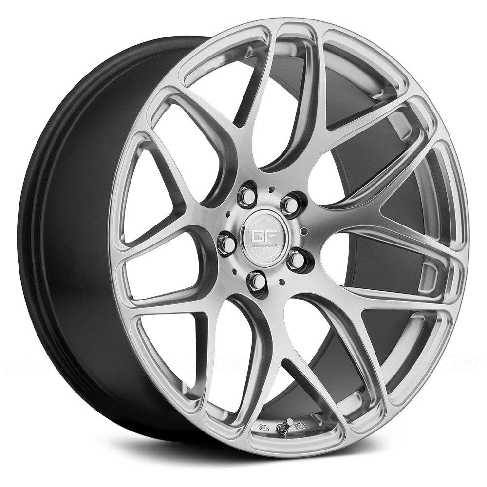 BMW Body Parts >> MRR® GF9 Wheels - Hyper Silver Rims