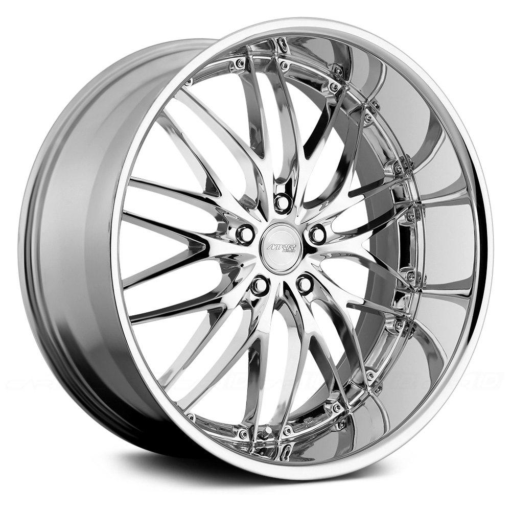 MRR® GT1 Wheels - Chrome Rims