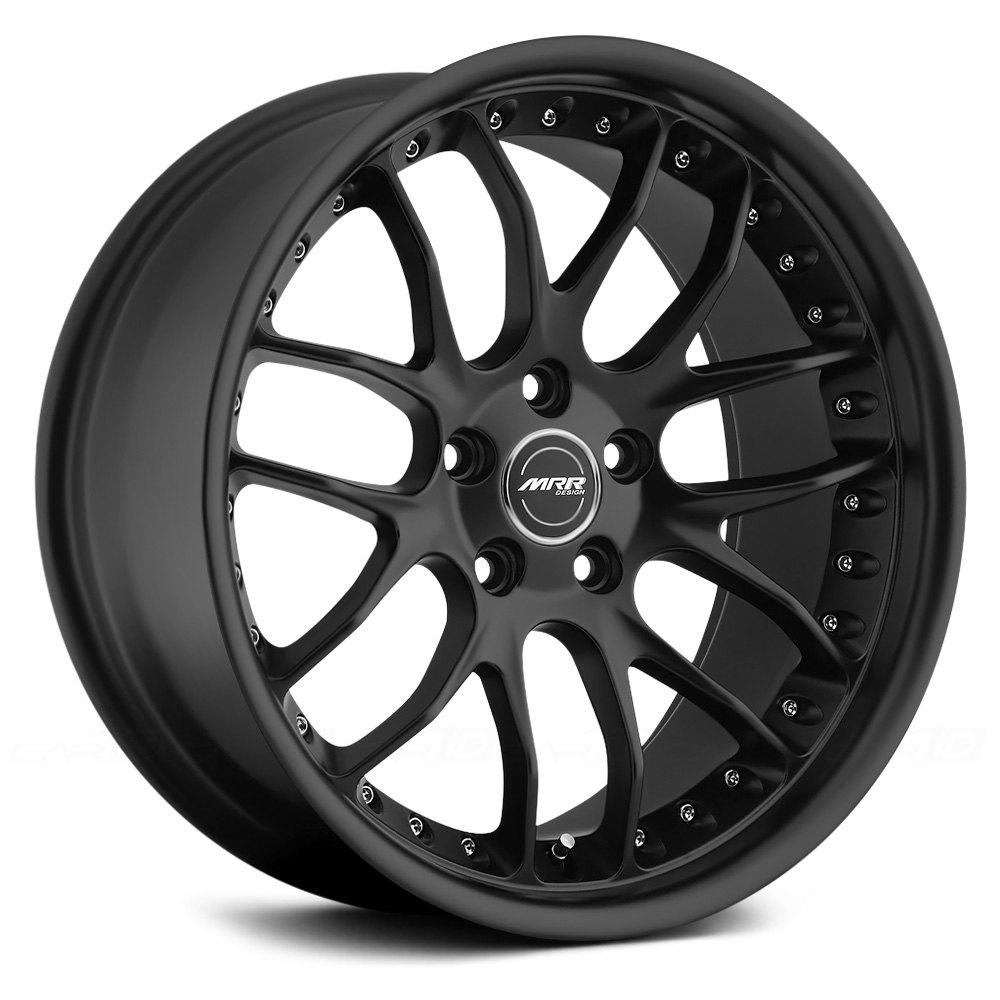 Bmw Bolt Pattern >> MRR® GT7 Wheels - Matte Black Rims - GT07189552035MB-I