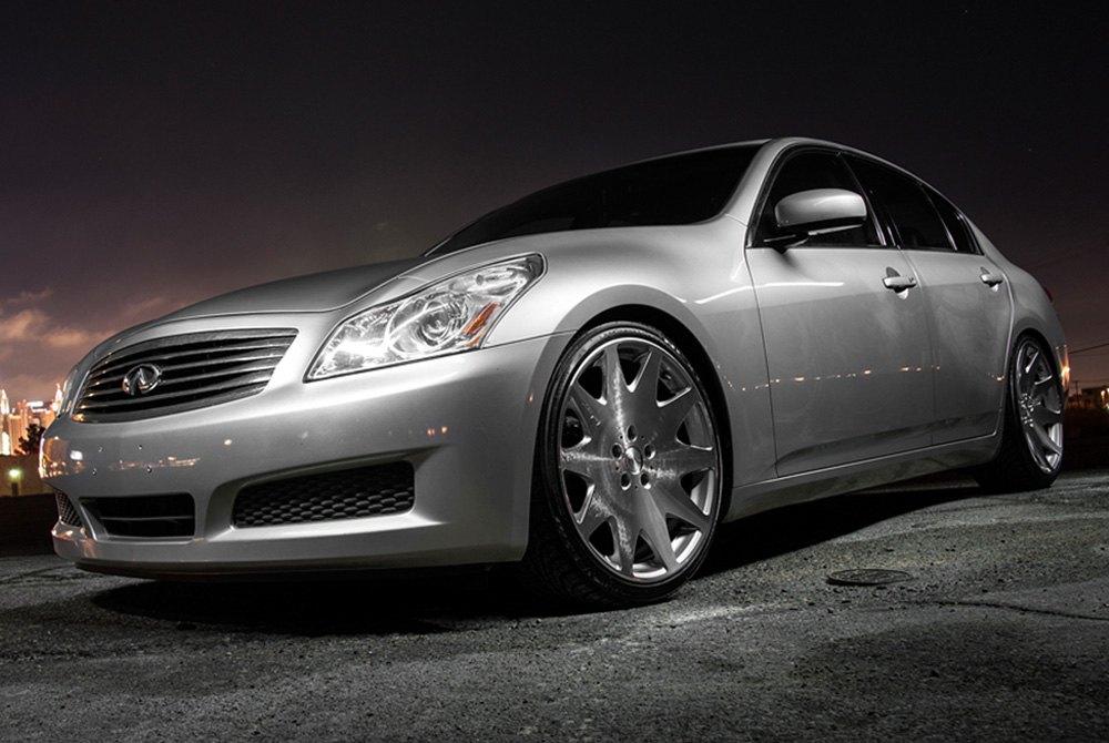 MRR HR60 Wheels Silver With Diamond Cut Face Rims HR0602085514605SH New G35 Bolt Pattern