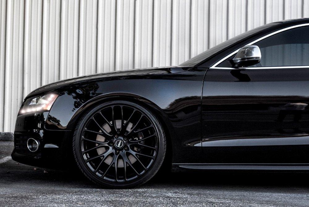 MRR® HR6 Wheels - Matte Black Rims