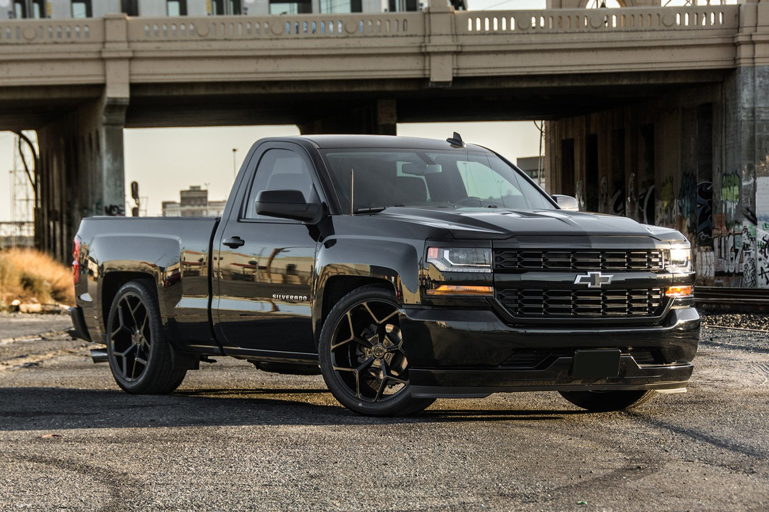 Truck black chevy truck : MRR® T228 Wheels - Black Rims