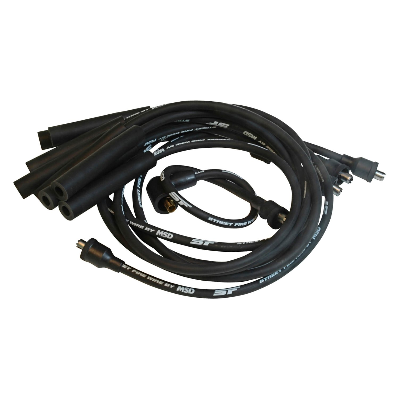 MSD® - Dodge Challenger 1970 Street-Fire™ Spark Plug Wire Set