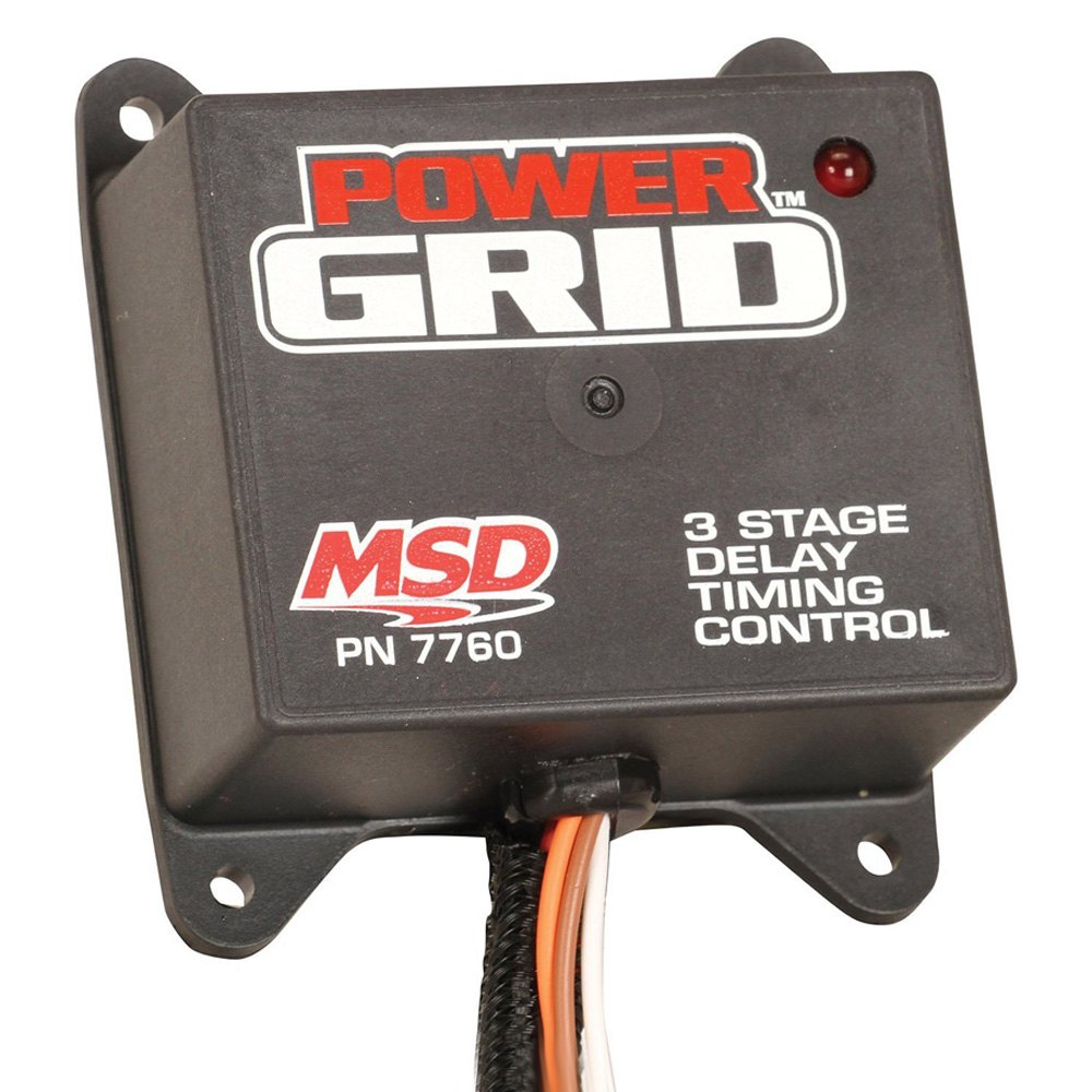 MSD® 7760 - Power Grid Ignition System™ Timing Control with 3 Stage on msd grid cable, msd grid system, msd grid accessories, msd grid installation,