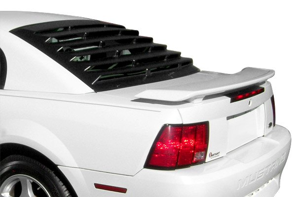 22012 msi rear window louvers unpainted ebay for 2000 mustang rear window louvers