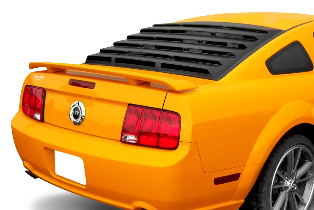 Msi rear window louvers for cars trucks for 2000 mustang rear window louvers