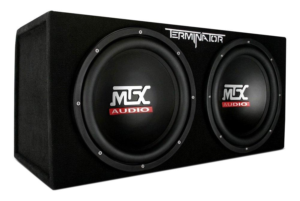 Mtx audio subwoofers speakers amps accessories carid mtx audio terminator series dual sealed passive 1200w subwoofer enclosure altavistaventures Choice Image