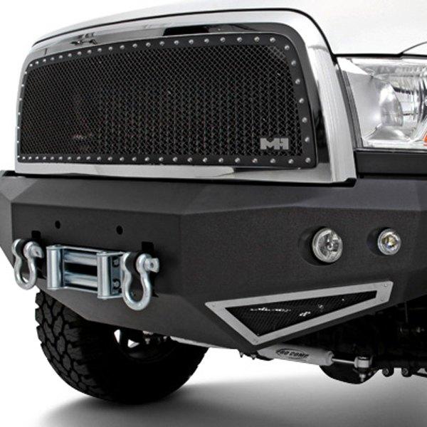 Heavy Duty Front Steel Bumper With Winch Mount Da5645 For: Ford F 150 Heavy Duty Front Bumper