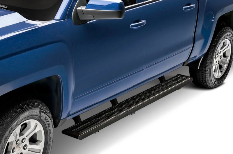 Nfab Running Boards >> N Fab 7 Growler Fleet Sure Grip Cab Length Black Running Boards