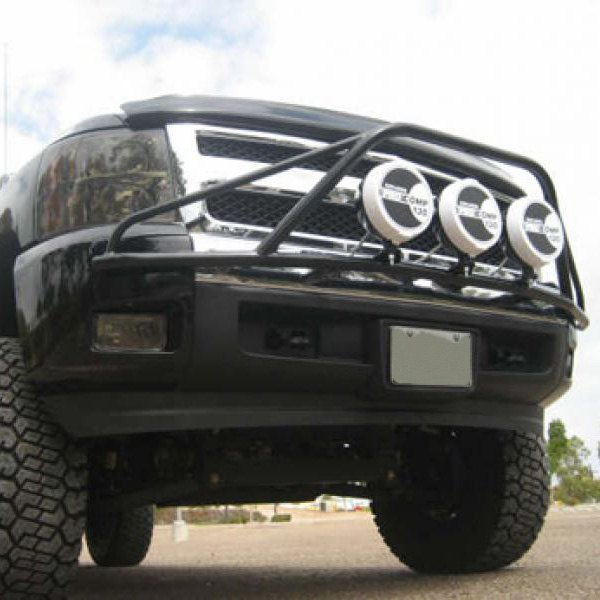 N fab chevy silverado 2008 pre runner style bumper light bar for pre runner style bumper light bar for up to 3x9 round aloadofball Choice Image