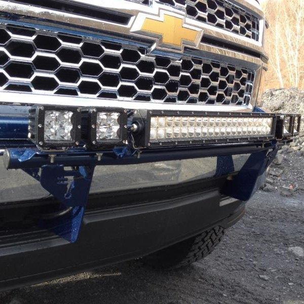 N Fab 174 Chevy Silverado 2015 Multi Mount Series Bumper