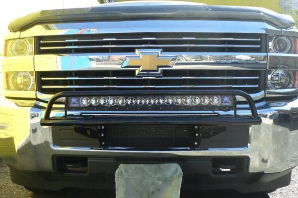 N-Fab® - Chevy Silverado 2500 HD / 3500 HD 2016-2018 OR ...